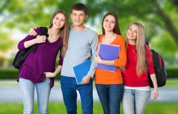 teenagers school