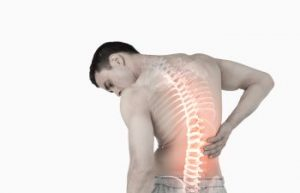 Inflamed Back and Spinal Area